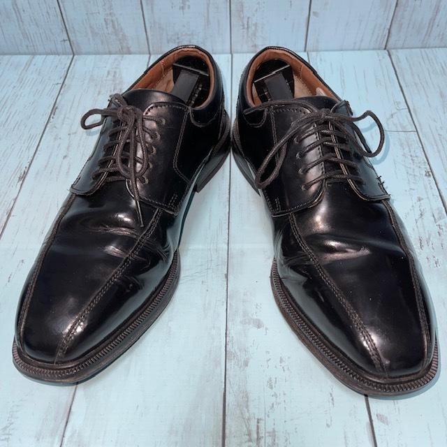 【即決/送料無料】ロックポート ROCKPORT 24.5cm 黒 ブラック 革靴 ビジネスシューズ_画像1