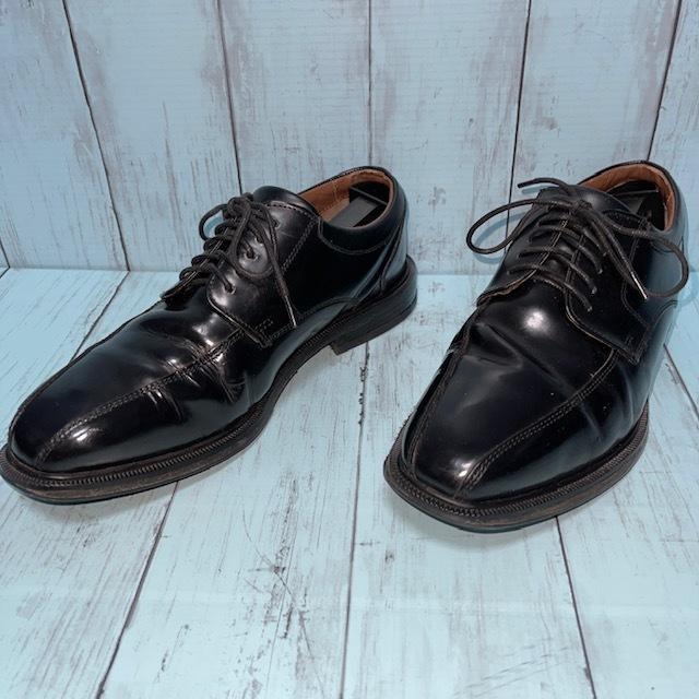【即決/送料無料】ロックポート ROCKPORT 24.5cm 黒 ブラック 革靴 ビジネスシューズ_画像2