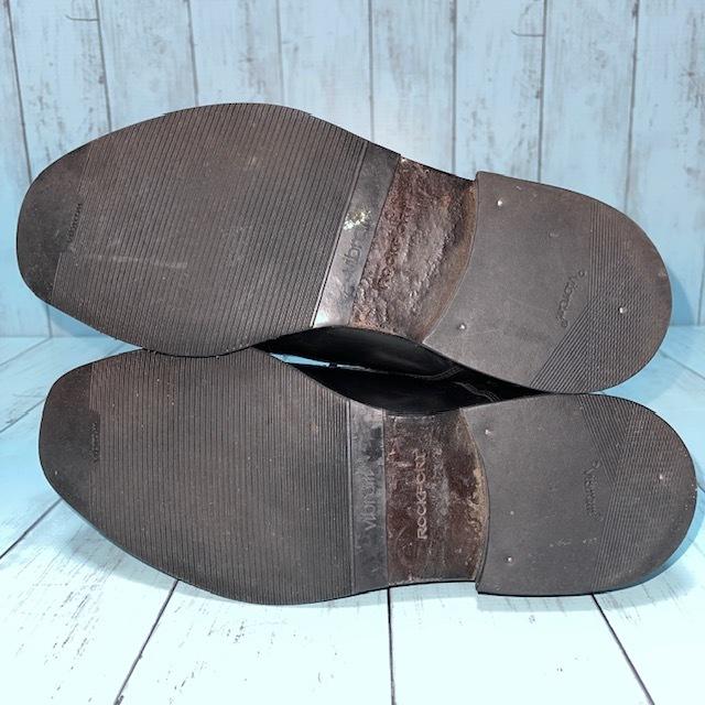 【即決/送料無料】ロックポート ROCKPORT 24.5cm 黒 ブラック 革靴 ビジネスシューズ_画像5