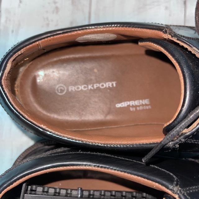 【即決/送料無料】ロックポート ROCKPORT 24.5cm 黒 ブラック 革靴 ビジネスシューズ_画像6
