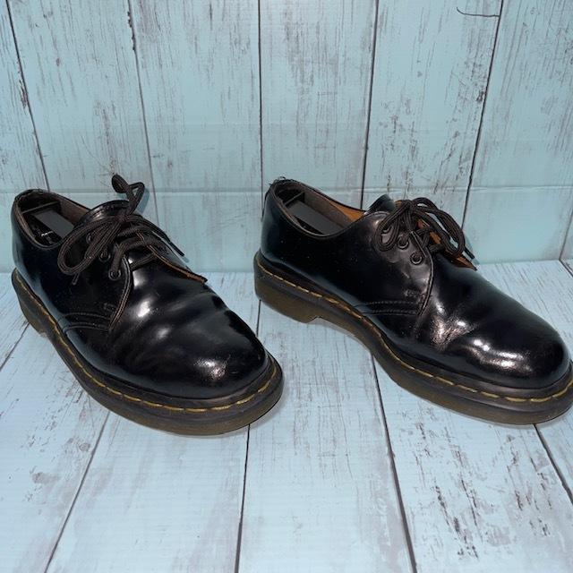 【即決/送料無料】ドクターマーティン Dr.Martens 3ホール UK5 24cm 革靴 女性にも_画像3