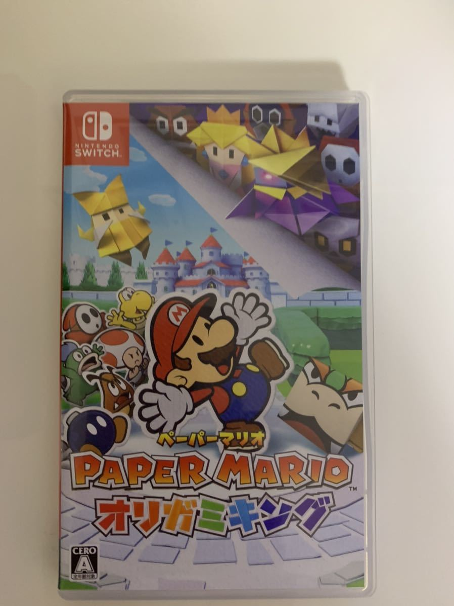 ☆Nintendo Switch ☆ペーパーマリオ☆オリガミキング☆ソフト☆マリオ☆スイッチ☆