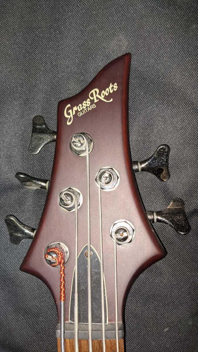 Grass Roots グラスルーツ G-D5-70 5弦  ベース スルーネック_画像2