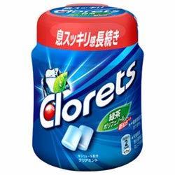 モンデリーズ・ジャパン クロレッツXPクリアミントボトルR 140g ×6個_画像2