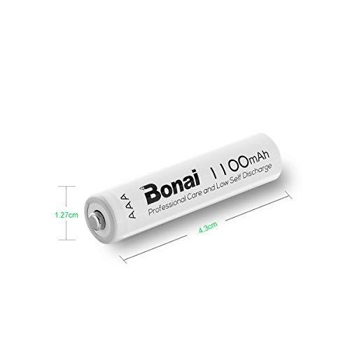 24個パック 単4電池 充電池 24本 BONAI 単4形 充電池 充電式ニッケル水素電池 24個パック PSE/CEマーキング_画像3