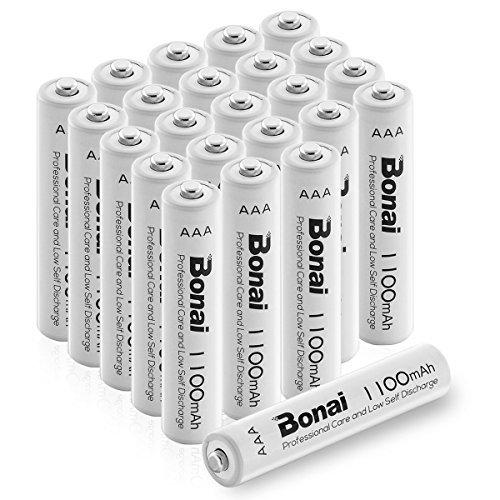 24個パック 単4電池 充電池 24本 BONAI 単4形 充電池 充電式ニッケル水素電池 24個パック PSE/CEマーキング_画像2