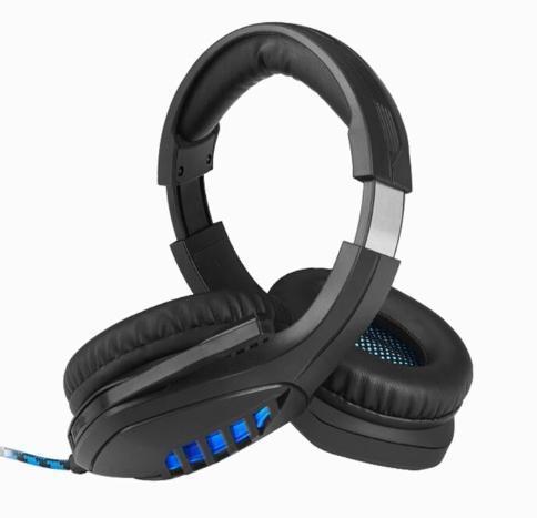 ゲーミングヘッドセット ブラック 3.5mmオーディオケーブル USB接続 PC/ゲーム機 マイク 会話 チャット_画像6