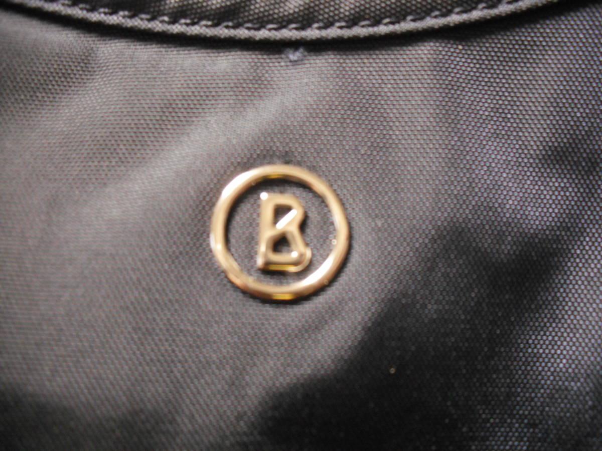 BOGNER(ボグナー)のナイロン製ショルダーバッグ:ネイビー:美品_画像6