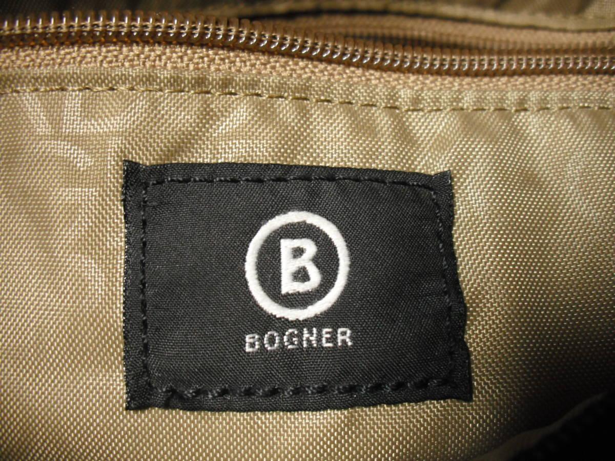 BOGNER(ボグナー)のナイロン製ショルダーバッグ:ネイビー:美品_画像7