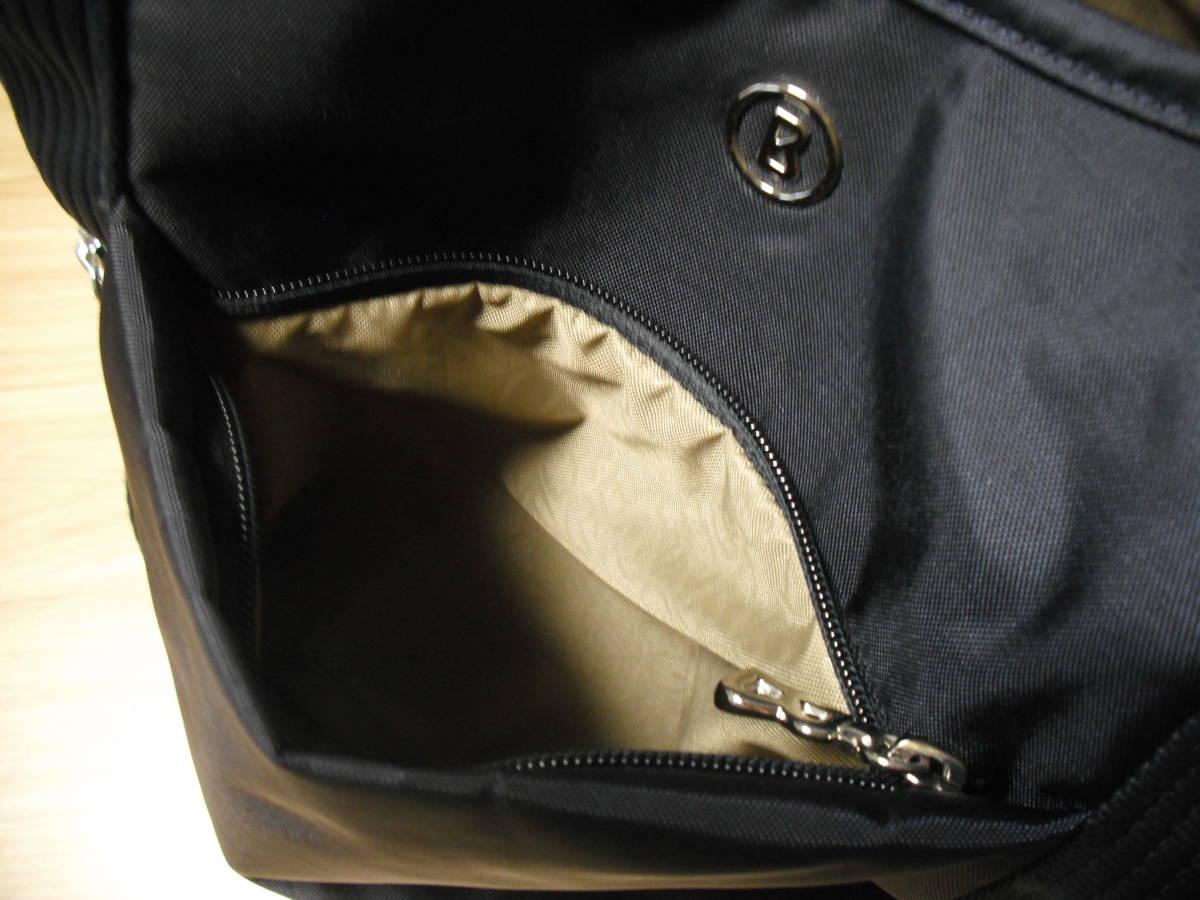 BOGNER(ボグナー)のナイロン製ショルダーバッグ:ネイビー:美品_画像9