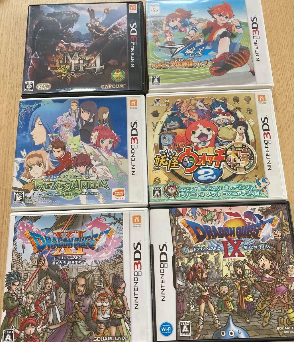 ドラゴンクエスト11,9  3DSソフト6個