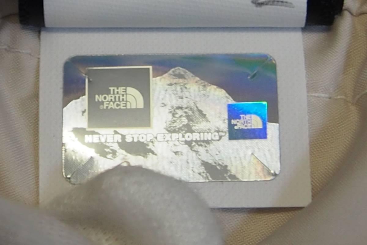 【USA購入、未使用タグ付】ノースフェイス レディース ダウンジャケット ロング丈 S ホワイト系 The North Face Acropolis Parka_画像9