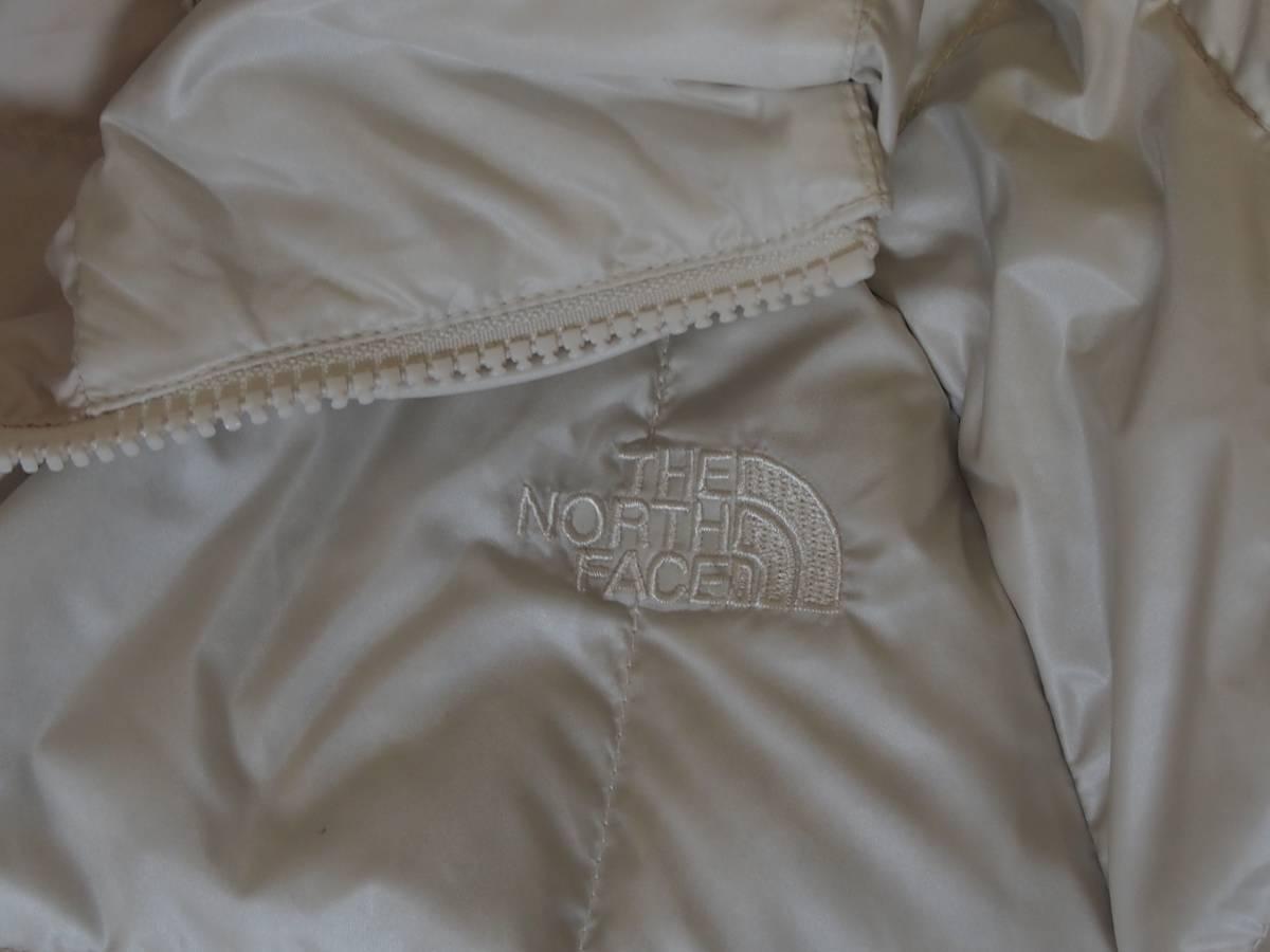 【USA購入、未使用タグ付】ノースフェイス レディース ダウンジャケット ロング丈 S ホワイト系 The North Face Acropolis Parka_画像2