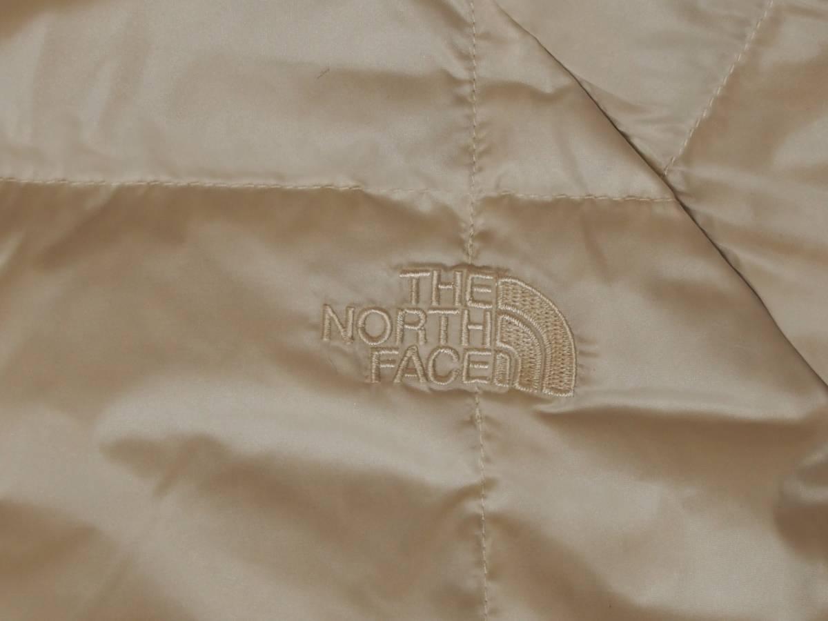 【USA購入、未使用タグ付】ノースフェイス レディース ダウンジャケット ロング丈 S ホワイト系 The North Face Acropolis Parka_画像4