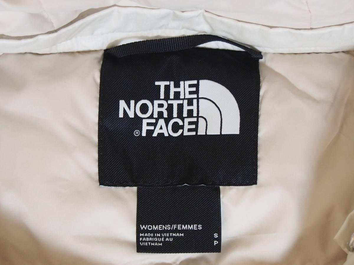 【USA購入、未使用タグ付】ノースフェイス レディース ダウンジャケット ロング丈 S ホワイト系 The North Face Acropolis Parka_画像8