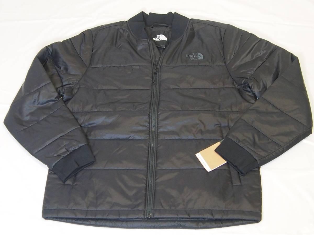 【USA購入、未使用タグ付】ノースフェイス 中綿ジャケット Lサイズ ブラック The North Face Pardee Jacket_画像1