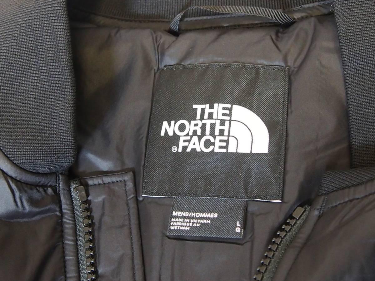 【USA購入、未使用タグ付】ノースフェイス 中綿ジャケット Lサイズ ブラック The North Face Pardee Jacket_画像6
