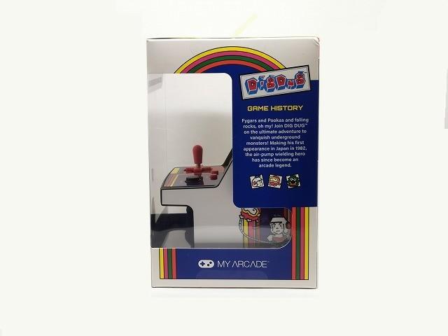 【新品 未開封】マイクロプレイヤー レトロゲーム 【ディグダグ】◆ MICRO PLAYER RETRO ARCADE DIGDUG ゲーム アーケードゲーム ナムコ_画像4