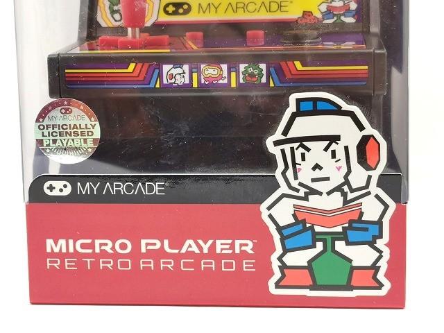 【新品 未開封】マイクロプレイヤー レトロゲーム 【ディグダグ】◆ MICRO PLAYER RETRO ARCADE DIGDUG ゲーム アーケードゲーム ナムコ_画像2