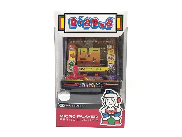 【新品 未開封】マイクロプレイヤー レトロゲーム 【ディグダグ】◆ MICRO PLAYER RETRO ARCADE DIGDUG ゲーム アーケードゲーム ナムコ_画像1
