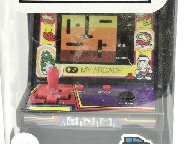【新品 未開封】マイクロプレイヤー レトロゲーム 【ディグダグ】◆ MICRO PLAYER RETRO ARCADE DIGDUG ゲーム アーケードゲーム ナムコ_画像3