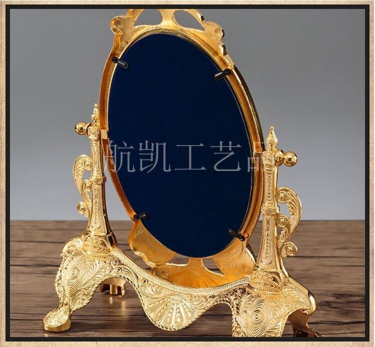 ◆最安にします◆ ヨーロッパ ロココ調 卓上鏡 化粧鏡 ミラー AT9009_画像6
