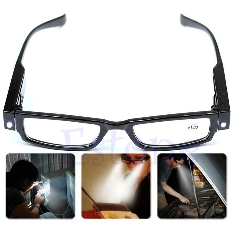 ★1円スタート★マルチ 強度 LED 老眼 鏡眼 鏡眼鏡 視度 拡大鏡 ライトアップ_画像1