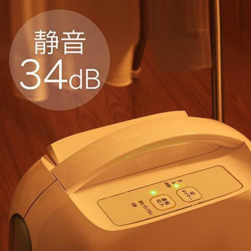 未使用品★アイリスオーヤマ 衣類乾燥除湿機 強力除湿 タイマー付 静音設計 除湿量2.2L デシカント方式 ブルー IJD-H20_画像5