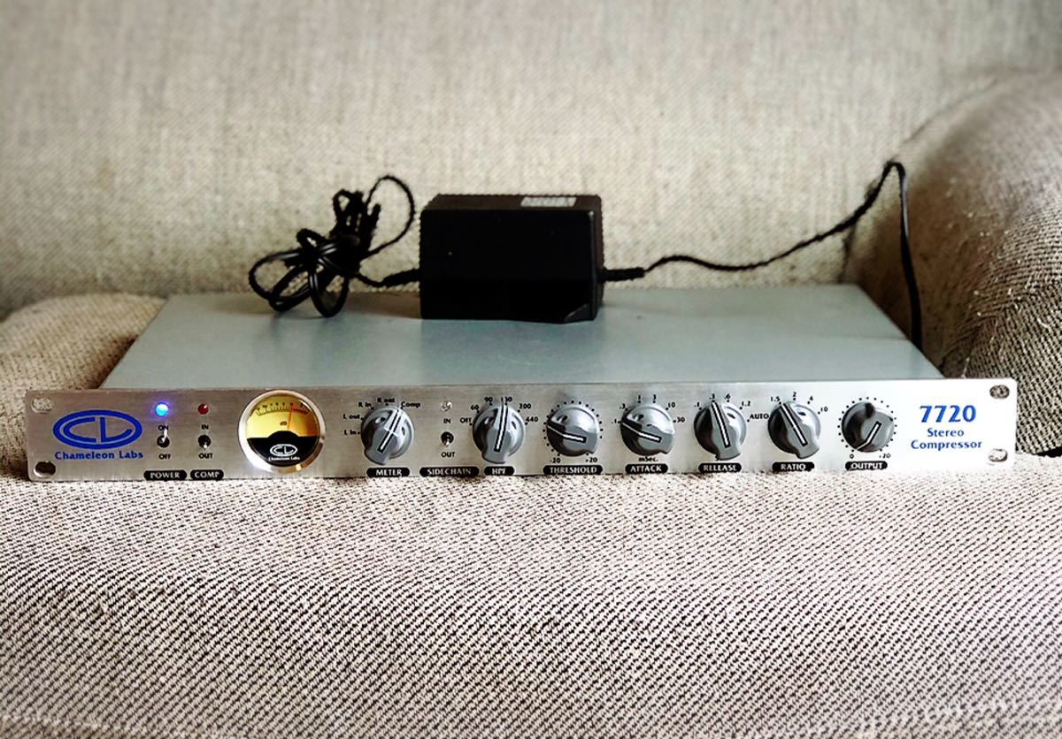 正規品【入手困難】Chameleon Labs Model 7720 ステレオ コンプレッサー neve系 検)WARM AUDIO RUPERT NEVE DESIGNS Golden age project