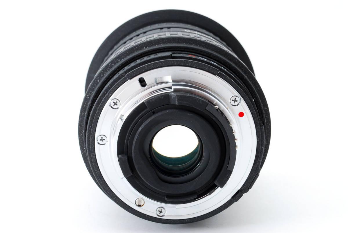 SIGMA シグマ 17-35mm D 1:2.8-4 EX ZOOM AF ズーム 望遠 レンズ Nikon ニコン 広角 キャップ フード フィルター付 [美品] #727279_画像6