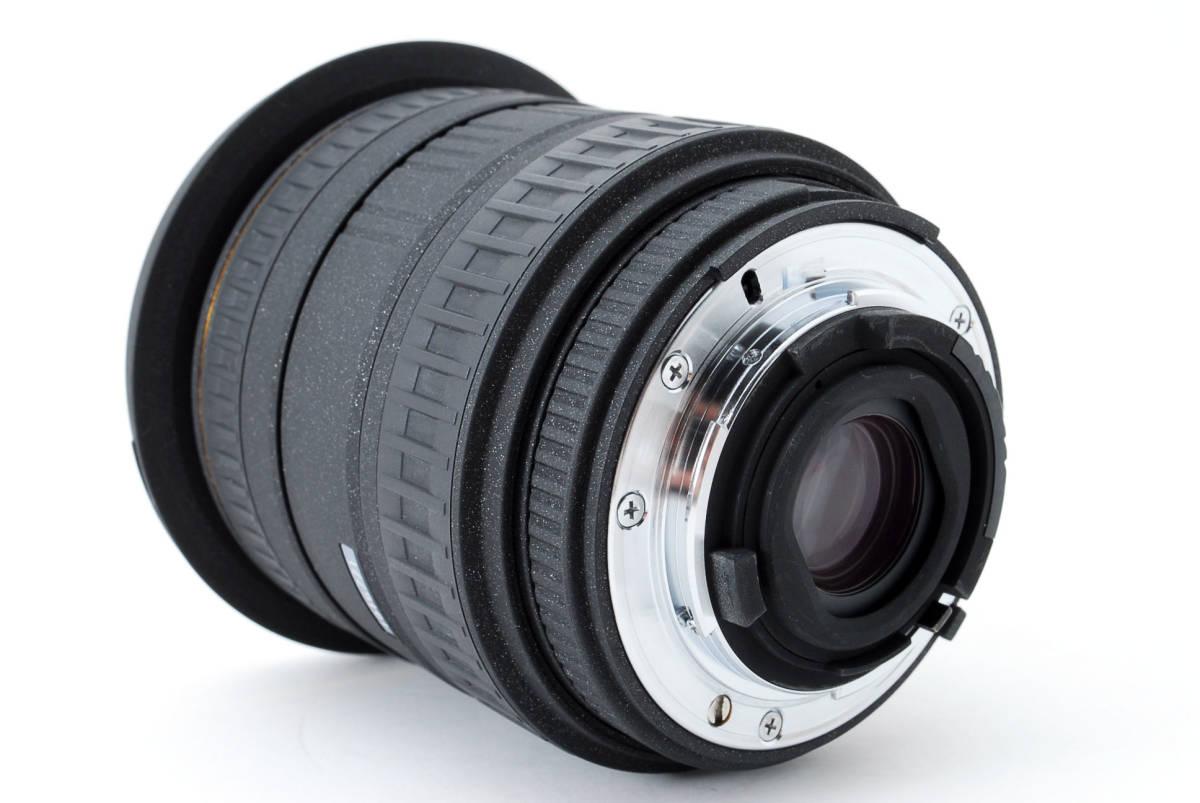 SIGMA シグマ 17-35mm D 1:2.8-4 EX ZOOM AF ズーム 望遠 レンズ Nikon ニコン 広角 キャップ フード フィルター付 [美品] #727279_画像7