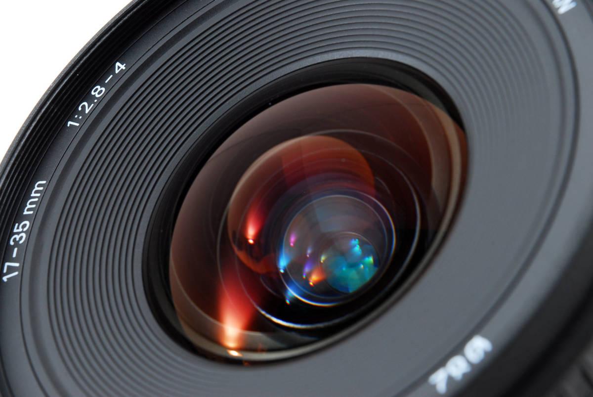 SIGMA シグマ 17-35mm D 1:2.8-4 EX ZOOM AF ズーム 望遠 レンズ Nikon ニコン 広角 キャップ フード フィルター付 [美品] #727279_画像10