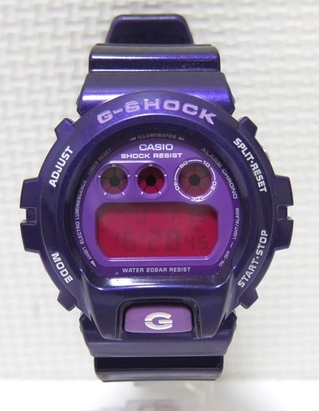 CASIO G-SHOCK DW-6900CC Crazy Colors クレイジーカラーズ パープル 紫