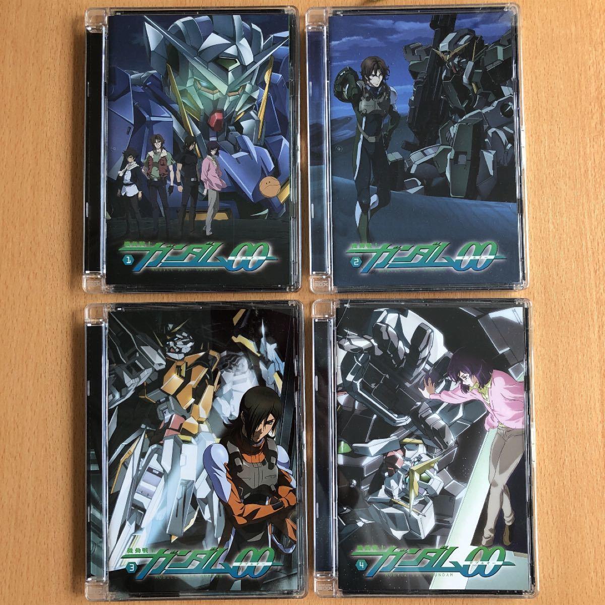 機動戦士ガンダムOO DVD 1 2 3 4巻 ダブルオー
