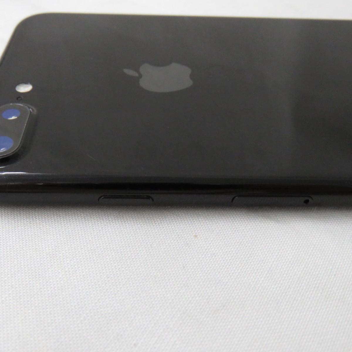 1円~【中古品】SoftBank ソフトバンク Apple iPhone 7 Plus 128GB MN6K2J/A ジェットブラック 判定○ ※SIMロック解除済 10703084_画像8