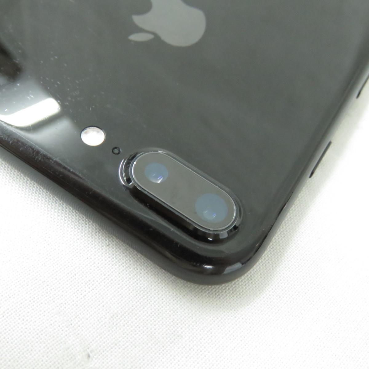 1円~【中古品】SoftBank ソフトバンク Apple iPhone 7 Plus 128GB MN6K2J/A ジェットブラック 判定○ ※SIMロック解除済 10703084_画像7