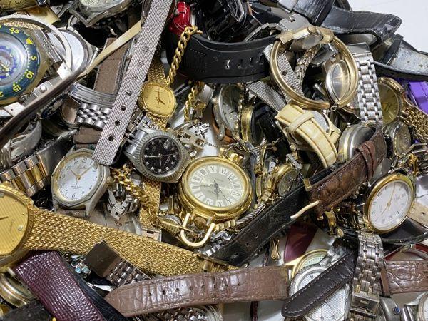 腕時計 まとめて 100本以上 3kg 大量 SEIKO CITIZEN ALBA BABY-G オリエント ELGIN スウォッチ ノーブランド等 ジャンク_画像6