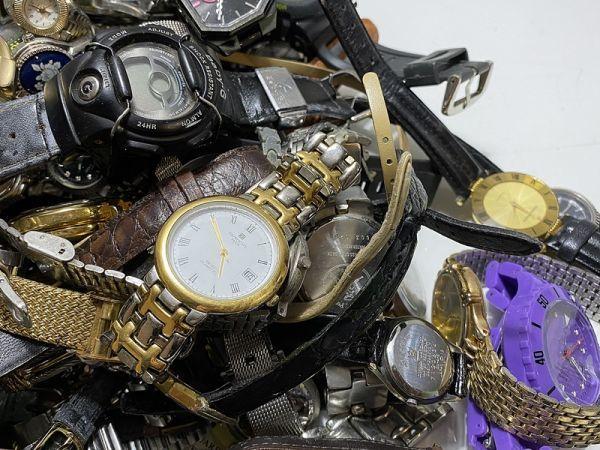 腕時計 まとめて 100本以上 3kg 大量 SEIKO CITIZEN ALBA BABY-G オリエント ELGIN スウォッチ ノーブランド等 ジャンク_画像2