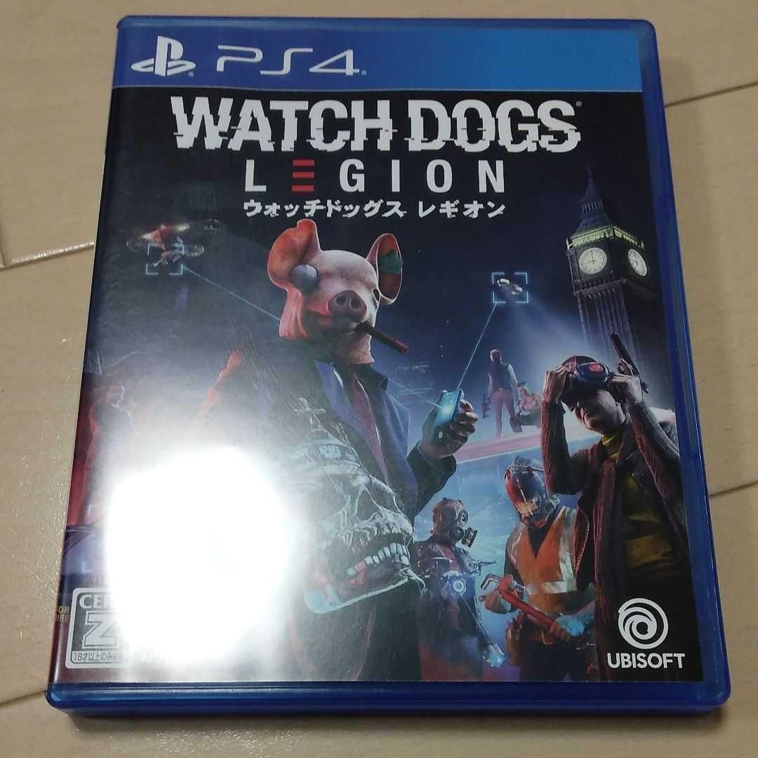 PS4ソフト ウォッチドッグスレギオン