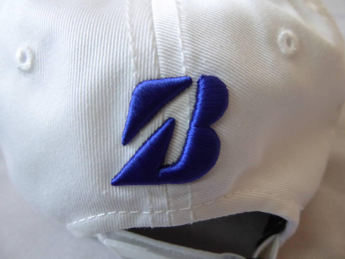 BRIDGESTONE GOLF ブリヂストンゴルフ TOUR B キャップ CPG81Y フリー(56~59cm) 白_画像4