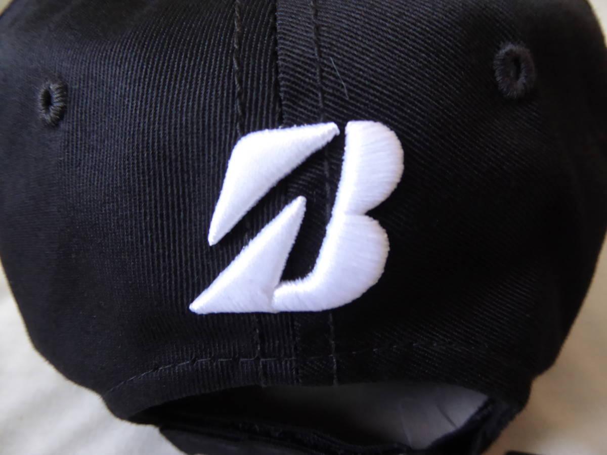 BRIDGESTONE GOLF ブリヂストンゴルフ TOUR B キャップ CPG81Y フリー(56~59cm) 黒_画像5
