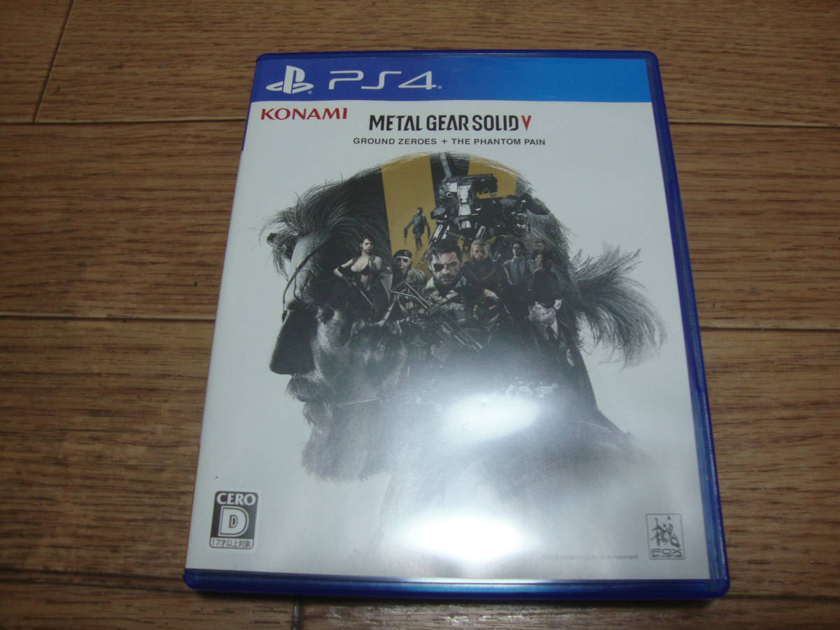 ★ PS4 METAL GEAR SOLID V GROUND ZEROES + THE PHANTOM PAIN ★