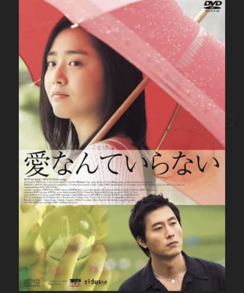 韓国映画 DVD 愛なんていらない