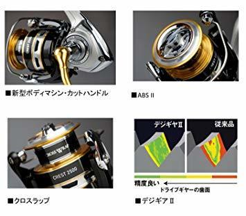 2500 ダイワ(Daiwa) スピニングリール 16 クレスト 2508H (2500サイズ)_画像5