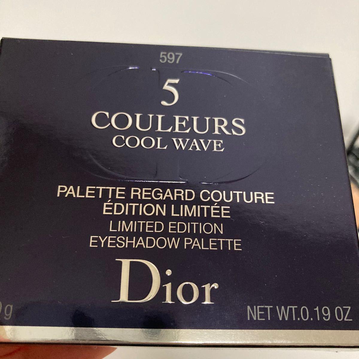 Dior ディオール アイシャドウ サンク クルール 限定品 597 ヒートアップ 箱付き シャドウ アイカラー パレット コスメ