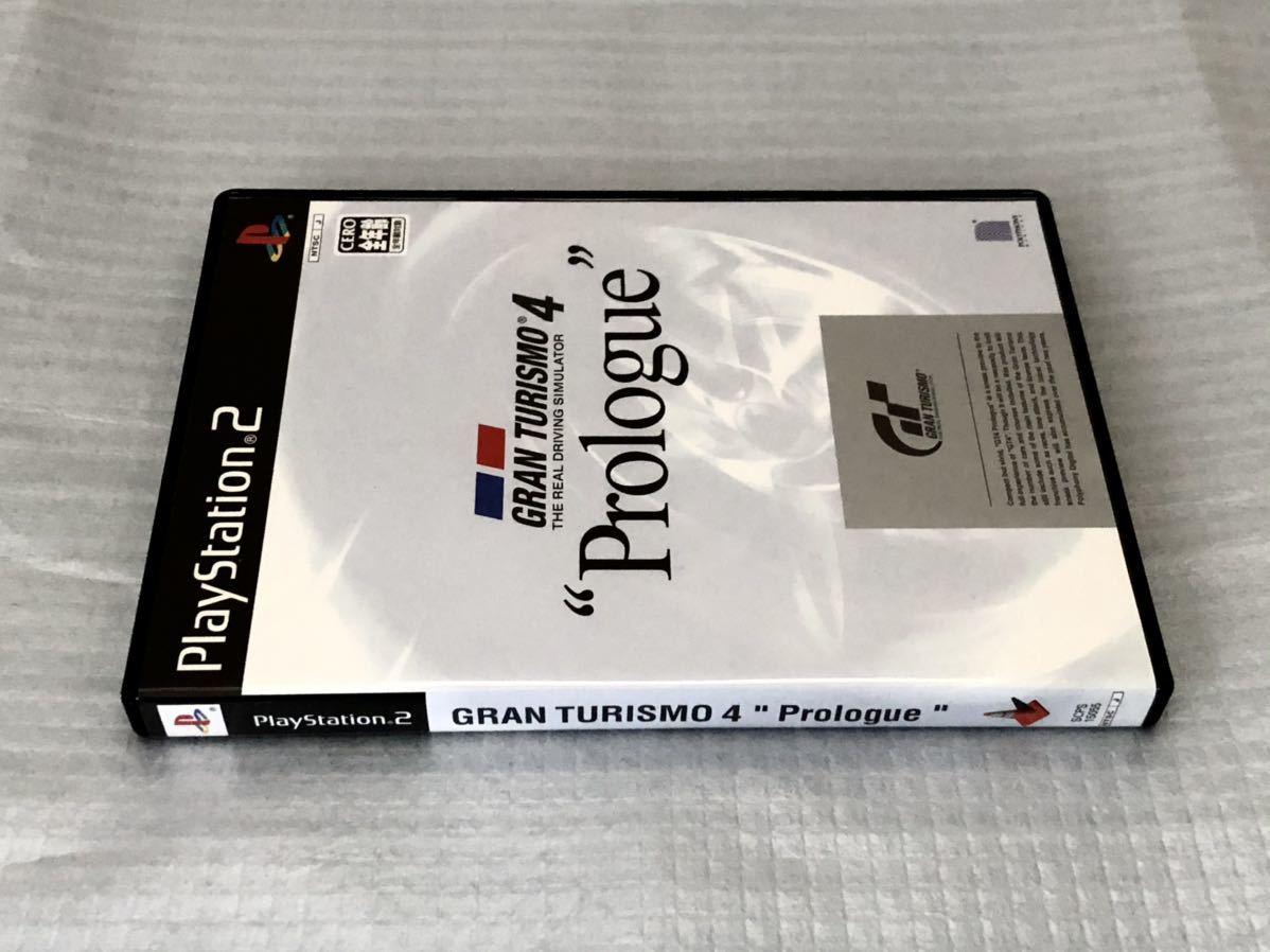 PS2 グランツーリスモ4 プロローグ GRAN TURISMO4 Prologue 説明書・付属品付き 動作確認済み 美品 プレステ2