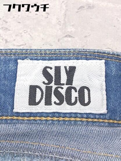 ◇ SLY DISCO スライ デニム ジーンズ パンツ サイズ24 インディゴ レディース_画像3
