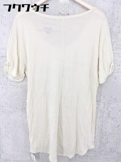 ◇ Cameron Hawaii キャメロンハワイ 半袖 Tシャツ カットソー サイズS ベージュ系 メンズ_画像2