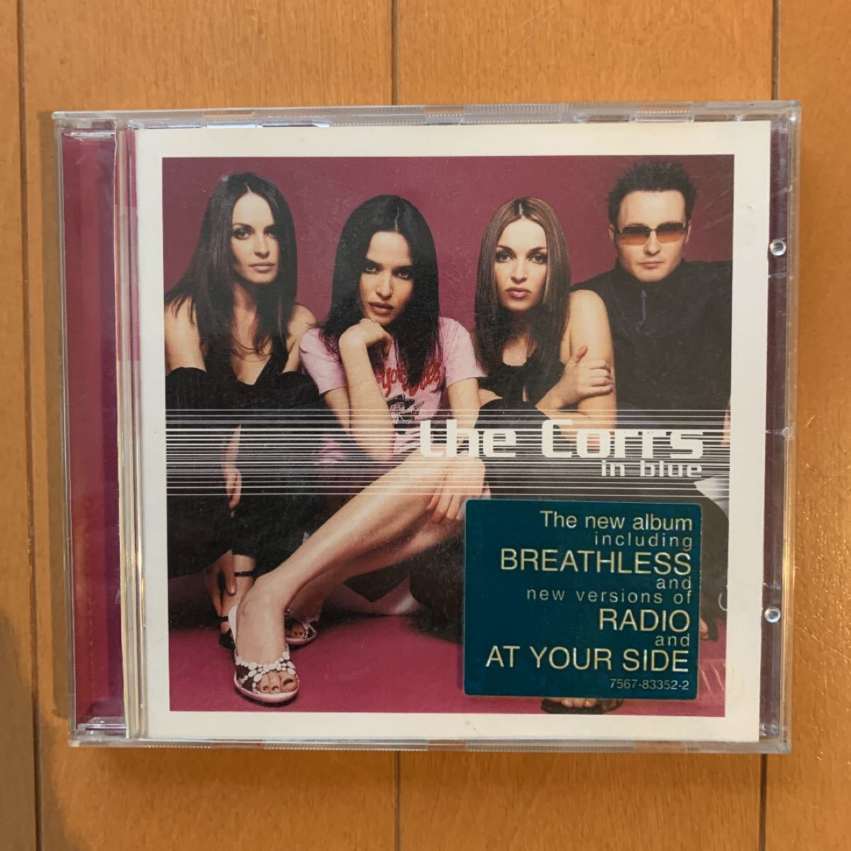 the Corrs / in blue