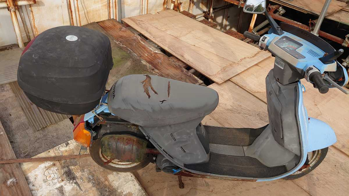 「HONDA リ-ド 部品取り車」の画像1